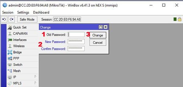 default login voor wie de default login van je Mikrotik router niet kent