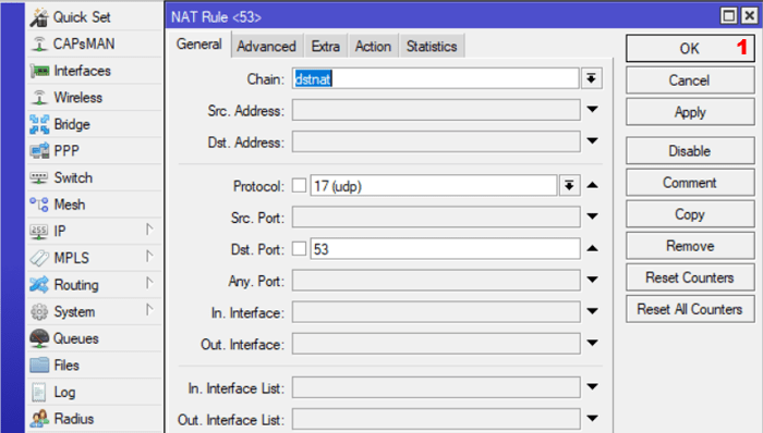mikrotik nat settings